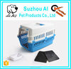 Pet Plastic Dog Cage Kennel Carrier Travel Dog Cat Cage Crate