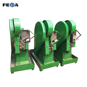 FEDA automatic guangzhou nail making machine spoke threading machine bar peeling machine