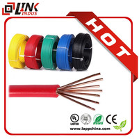 XLPE insulation wire cable/ 450/750V electrical cable RVV copper wire