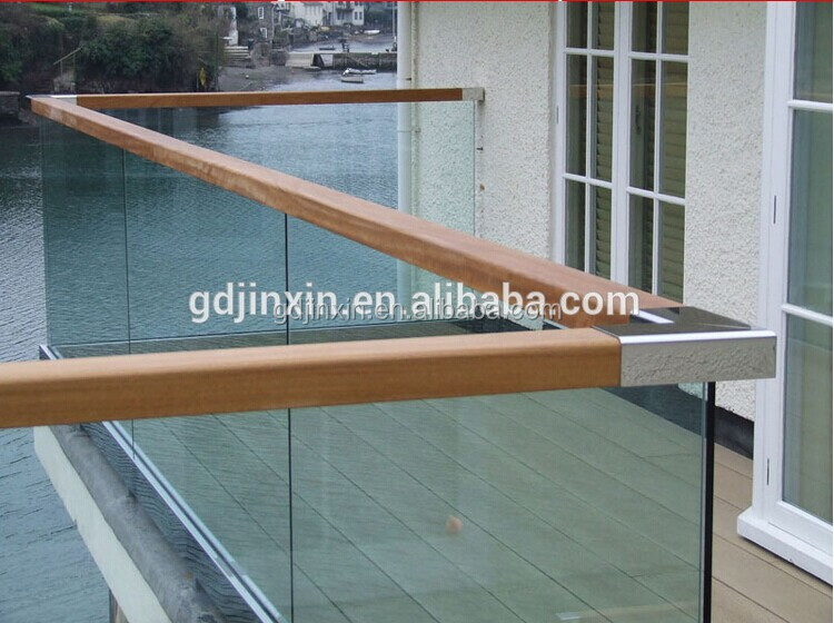Laminated Steel Pipe ~ Hochwertigen laminierten glas balkongeländer designs u