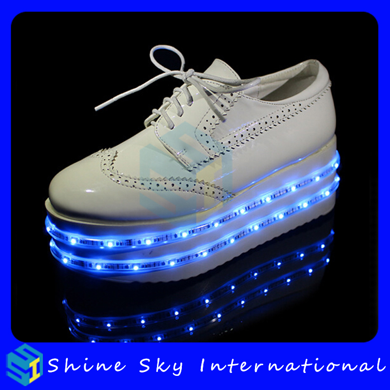 Celebrity wear led shoes style, led light shoes led light shoes, new year/give away gifts factory made kids led shoes
