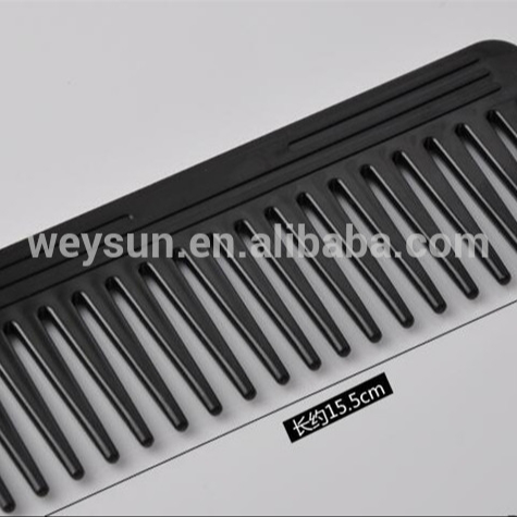 High Quality ABS Plastic Heat-resistant Large Wide Tooth Comb Detangling Wide Teeth Hairdressing Comb фото