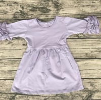 Top-quality girls dress names with pictures Icing Ruffle Sleeve boutique baby girl clothes elegant party dress