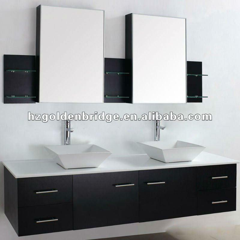 de lujo muebles de ba o vanidad doble lavabo p002