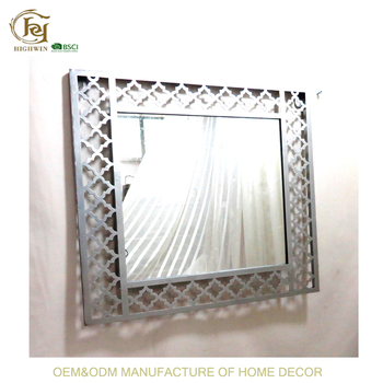 New Design Metal Antique Wall Mirror Frame - Buy Oval Mirror,Framed ...