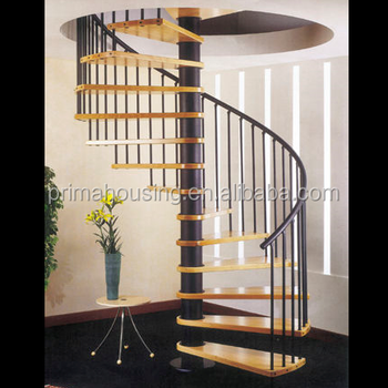 Small Place Indoor Diy Spiral Staircase Kits