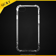 New PC&TPU anti-shock mobile phone case for iPhone X Clear case