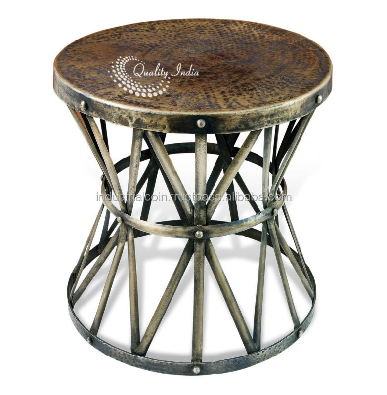High Quality Hammered Metal Coffee Table, Hammered Metal Coffee Table Suppliers And  Manufacturers At Alibaba.com