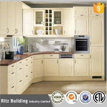 Pvc Kitchen Cabinets Coated Cabinet Doors