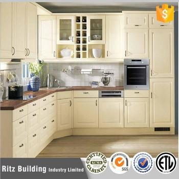 Cheap Pvc Kitchen Cabinetspvc Coated Kitchen Cabinet Doors Buy