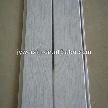 Pvc Wall Panel And Ceiling Tile With White Colour Wood Grain Design Por In Asia