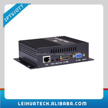 H.264 VGA Encoder PC Screen Video to IP Converter IP Encoder UDP Streaming Multicast Streaming for IPTV/Live Game Broadcasting