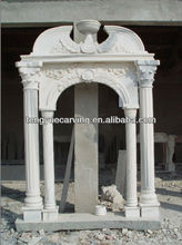 Marble Arch stone Door Frame with Figure Design
