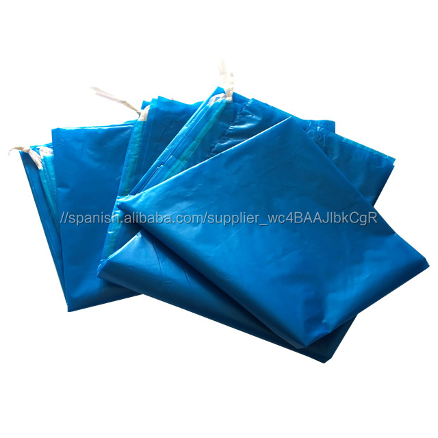 Color Azul 100lt Tamaño Grande Hdpe Dibujar Cinta Residuos De