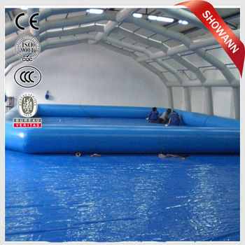 High Quality Giant Inflatable Pool Float Flamingo Inflatable Square Swimming Pool Large  Plastic Swimming Pool