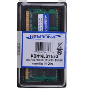 Image of Bestseller Laptop ddr3 8gb ram 1.35v PC3L -12800 1600mhz 204-pin sodimm memory
