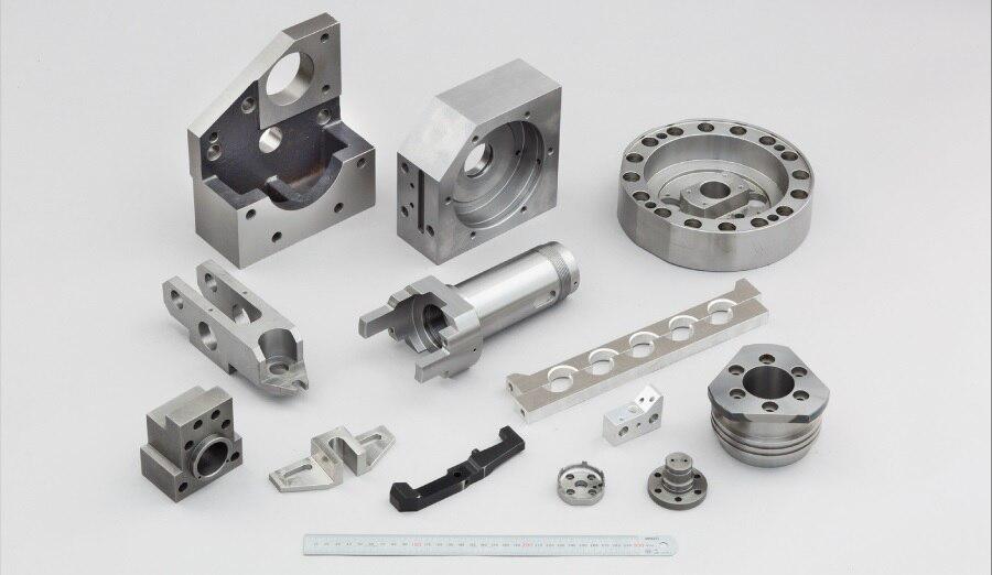 De CNC de alta precisión de aluminio fresado de piezas mecanizadas para engranajes