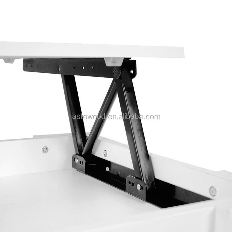 מודרני תכליתי גובה להתאים להרים למעלה עץ קפה שולחן