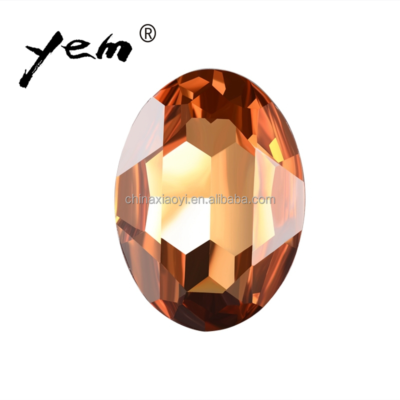 Yiwu Resin Stone Oval Shaped Diy for Nails Manufactory Cloth Accessories