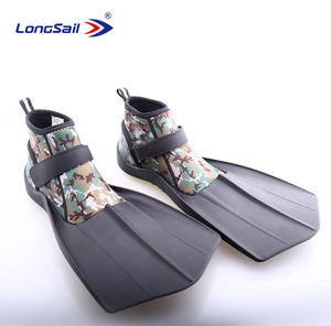 Newest Longsail snorkeling equipment water sports shoes scuba diving fins