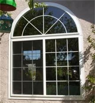 precio bajo material de diseo de la parrilla de aluminio pvc ventana de arco