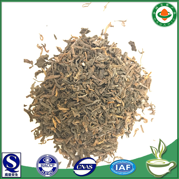 High quality bulk hot sell loose tea China yunnan pu erh tea china supplier health food famous china tea brand