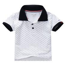 Hot Sale High Quality 100 Cotton Summer Baby Boys Clothes Short Sleeve Kids Tshirt Boys Polo