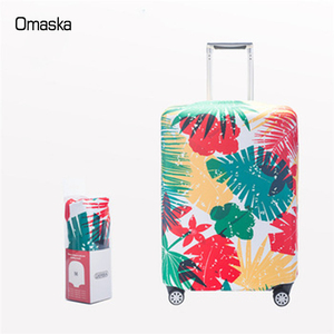 New designed beautiful spandex stretch fabric protective custom luggage cover