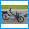 New Design 250W Eelctric Folding Carbon Fiber Recumbent Bicycles