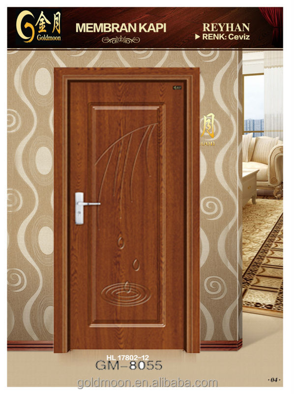 Single new wooden doors in kerala crowdbuild for for Single door design for home