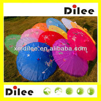 chinese oil paper weeding decoration leading manufacture beautiful umbrella