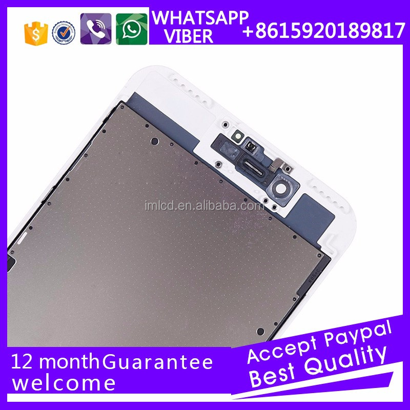 Mobile phone accessories screen for iPhone 7+ 5.5 full original new 2016 lcd replacement made in China supplier