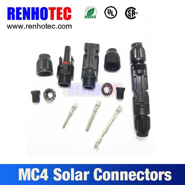 Solar Pv Mc4 Stecker Mit Minus Plus Polarität - Buy Product on ...