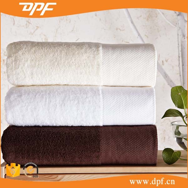 Cheap 16s Long Staped Cotton Terry Hotel <strong>Towel</strong> 600GSM