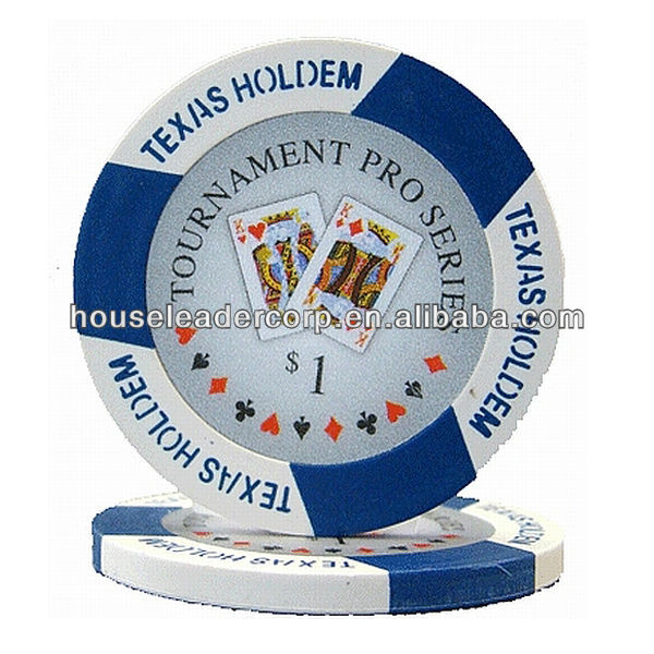 TEXAS HOLD EM DESIGN PERSONALIZZATO POKER CHIPS