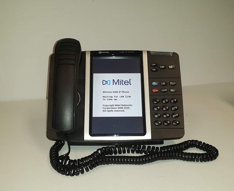Mitel 5200//5300 Universal IP Handset With Rubber Inserts