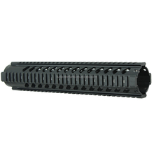 Funpowerland Tactical T-Serie 4/15 Free Float 12 Inch Handguard Quad Rail Scope Mount With Slanted Holes