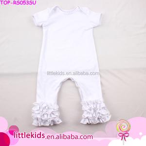 ff1acf1e0ca2 Plain Cotton Baby Pajamas Rompers