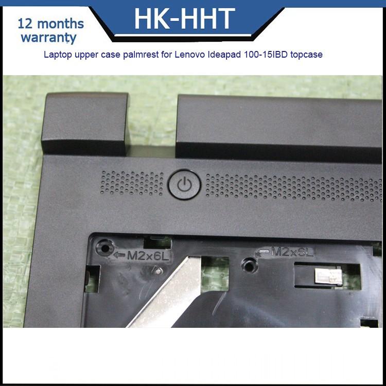 WIYI Compatible for Lenovo IdeaPad 100-15IBD Palmrest KB Bezel Cover Upper Case AP10E000600