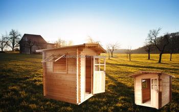 Attractive Garden Wooden House Wooden Leisure Sauna Backyard Activity Room