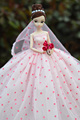 Autonomous design handmade Gifts For Girls Doll Accessories Evening Suit Wedding Dress Clothes For Barbie 1