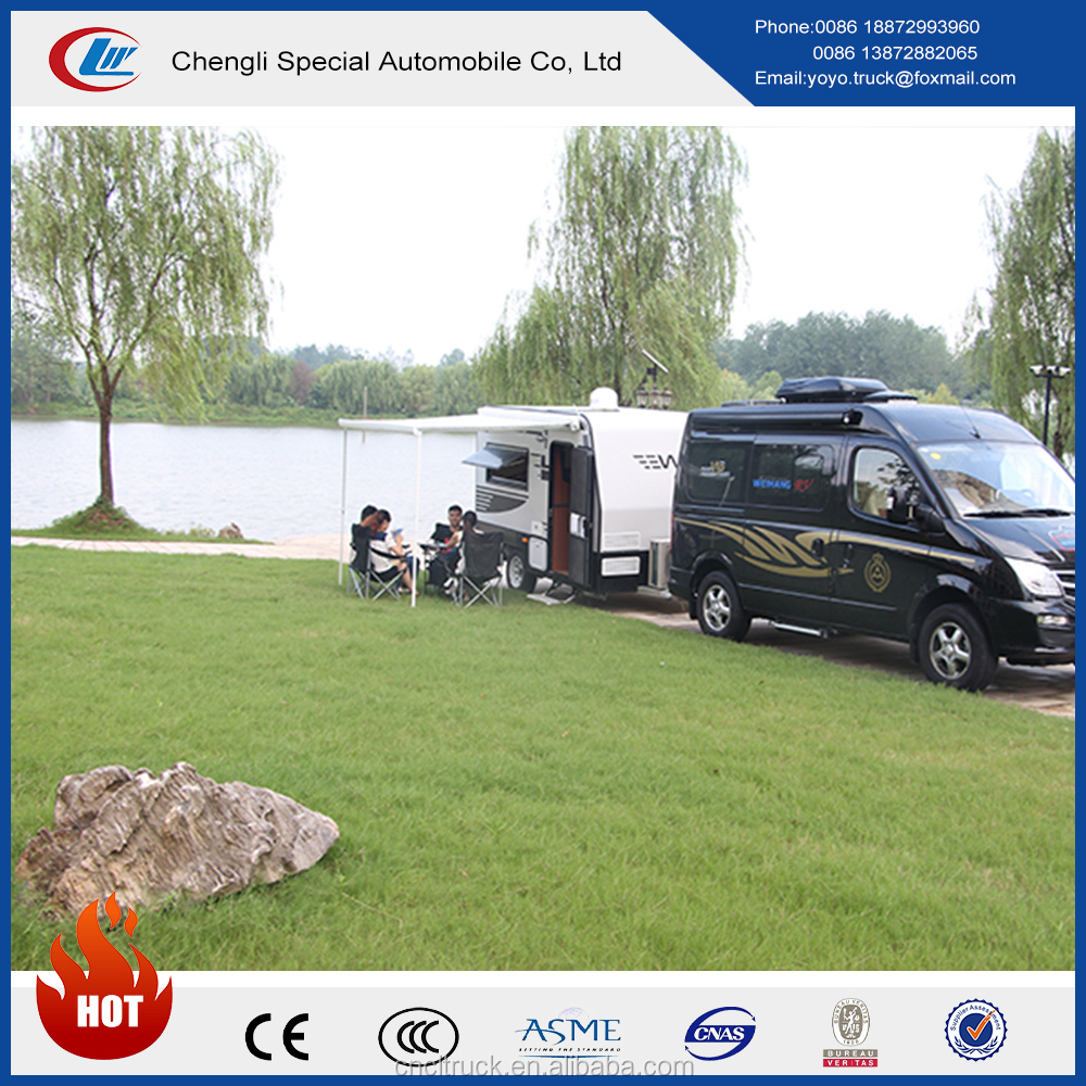 China manufacture new design motorhome for sale