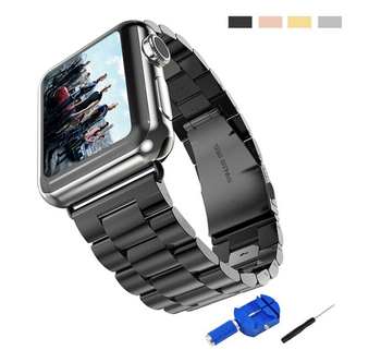 Luxury Metal Strap Stainless Steel Band for Apple Watch with Regular