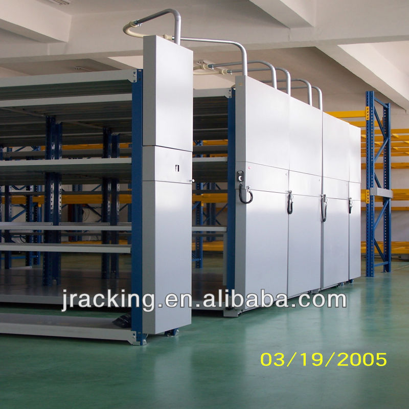 Documents Storage Removable Shelf Manual Compactor Racking