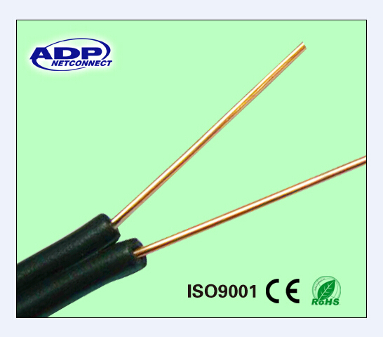 18awg 2 Core Telephone Drop Wire Cable - Buy Drop Wire Cable ...
