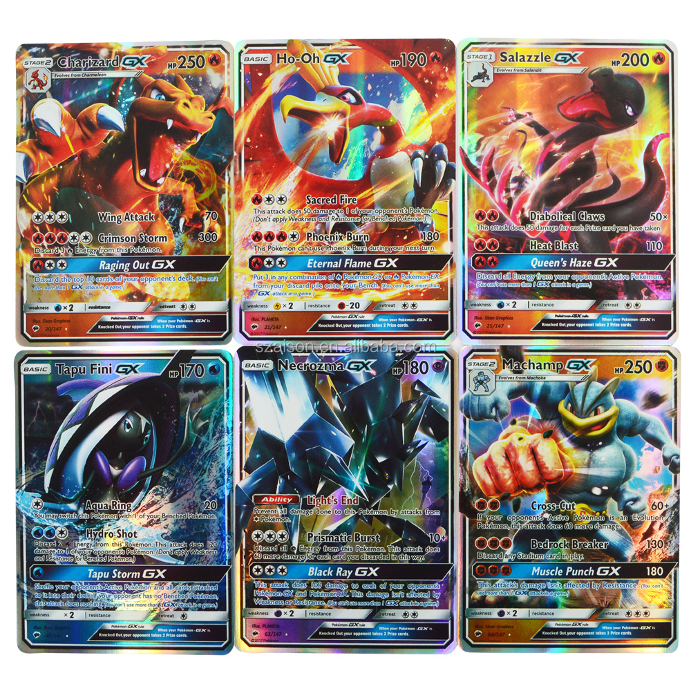 Flash Tcg Pokemon Card Lot 120