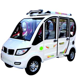 Electric Passenger Car/e rickshaw/ electric tricycle with enclosed driving cab