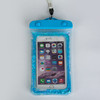 Korea PVC floating waterproof bag Glitter flowing liquid star mobile phone bag
