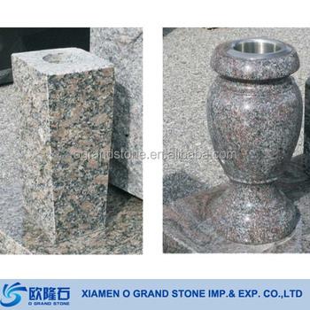 Cemetery Granite Flower Vases For Tombstones Granite Vase Buy