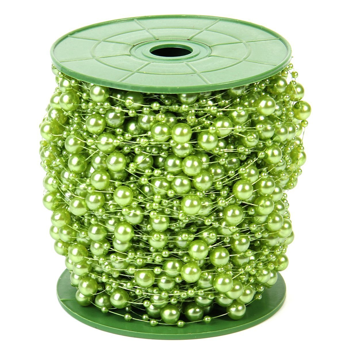Cheap wedding centerpieces find wedding centerpieces deals on line get quotations krismile200 feet roll green pearl string party garland wedding centerpieces bridal bouquet decoration pearl string bead junglespirit Choice Image